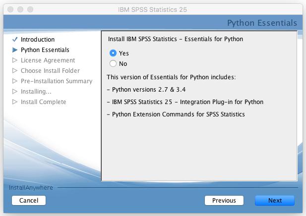 Spss 25 installation instructions mac grok knowledge base python essentials installation window platinumwayz